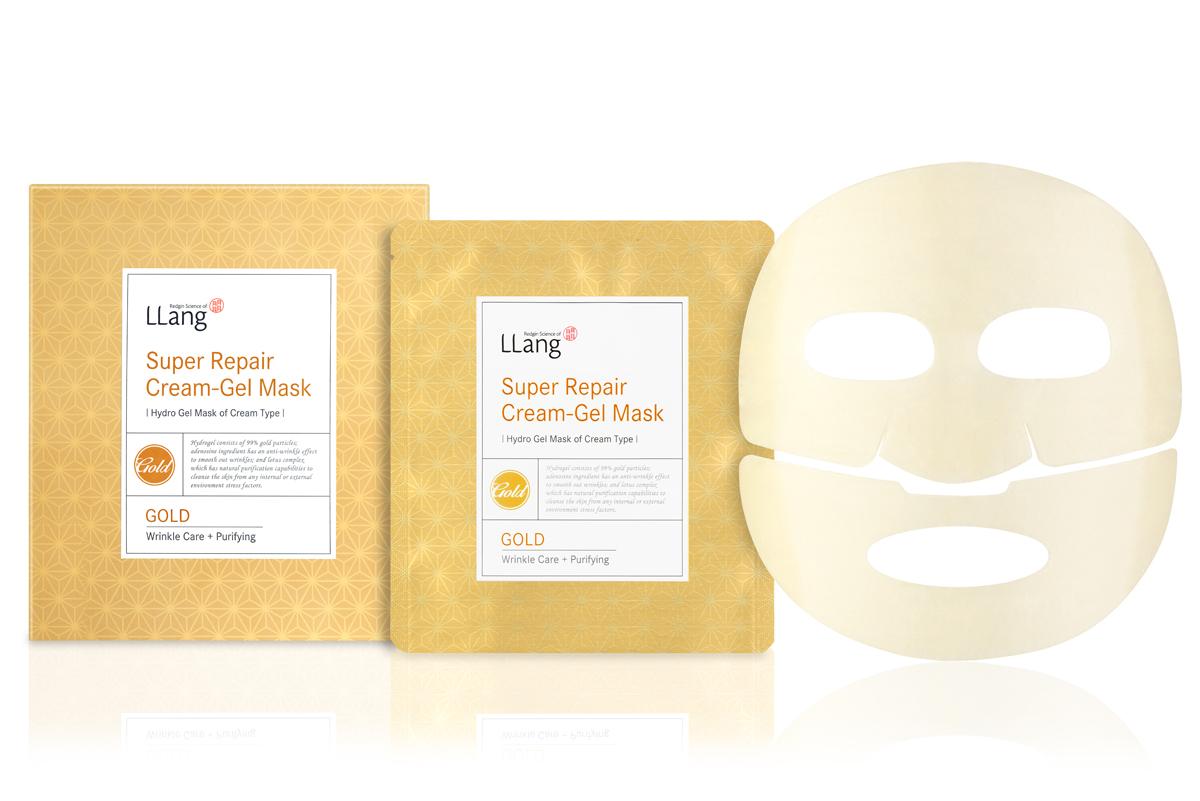 Llang Маска гидрогелевая восстанавливающая с экстрактом золота, 26 гр.*5PD001124A1Роскошная гидрогелевая маска с экстрактом золота обладает сильнейшим бактерицидным эффектом, способствует активации насыщения кожи кислородом, усиливает циркуляцию крови. Кожа омолаживается и обновляется на клеточном уровне.