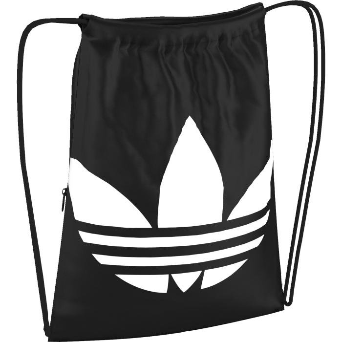 Сумка-мешок Adidas, цвет: черный. AJ8986