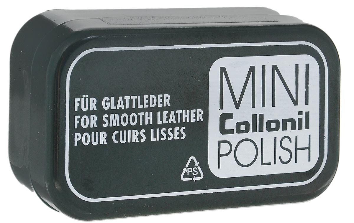 Мини-губка для обуви Collonil Mini Polish, для гладкой кожи, цвет: бесцветный7411 000Губка для обуви Collonil Mini Polish предназначена для мгновенного ухода за вашей обувью. Губка освежает цвет и придает блеск. Изделие подходит для всех видов гладкой кожи. Компактная упаковка губки легко поместиться в вашу сумку. Состав: пластик, поролон, пропитка на основе силикона. Размер губки: 6 х 3 х 2,5 см.