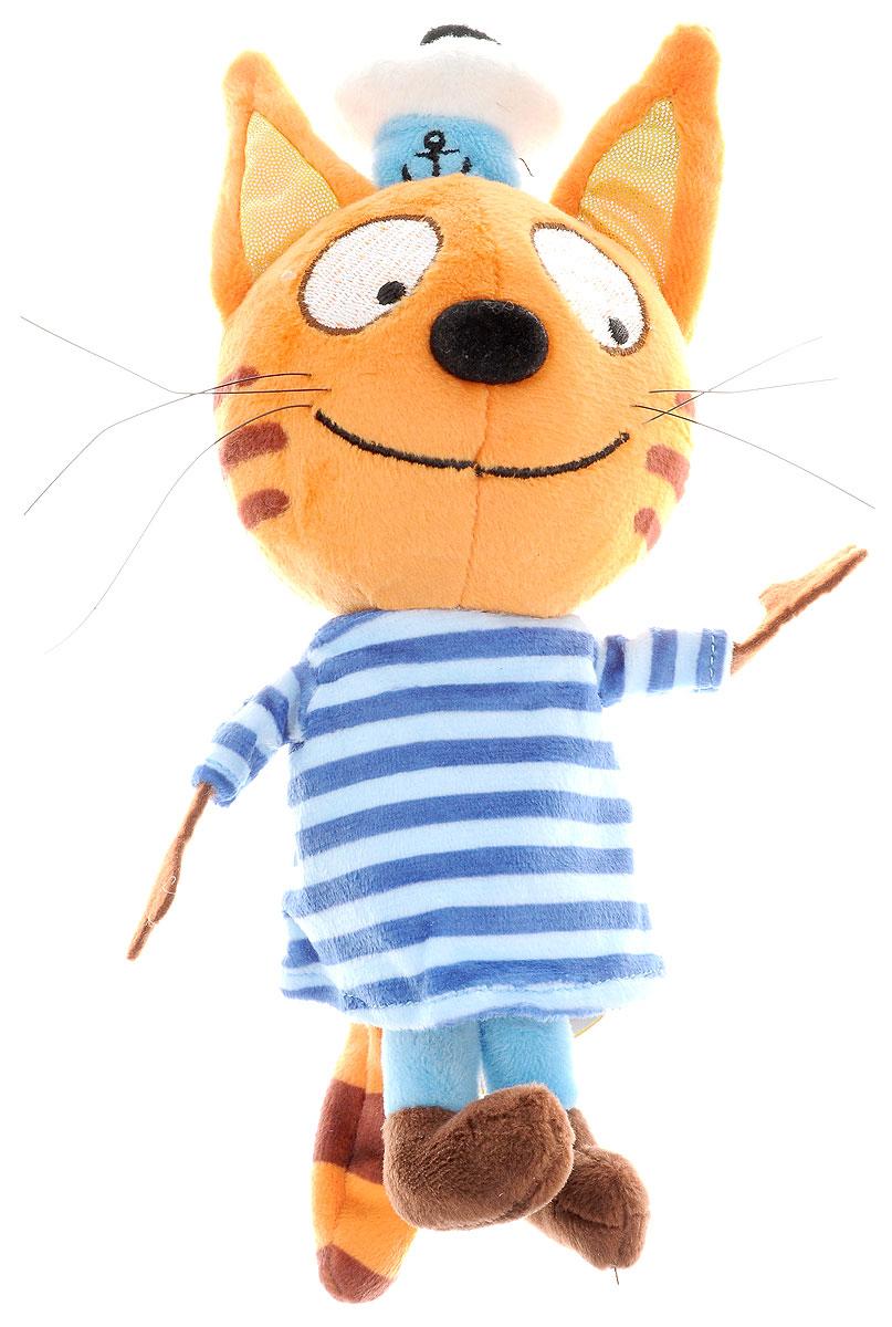 Три кота Мягкая игрушка КоржикV92306/14Мягкая игрушка из любимого мультфильма 3 Кота. Один из героев Коржик ростом 14 см расскажет свои фразы и споет песенку.