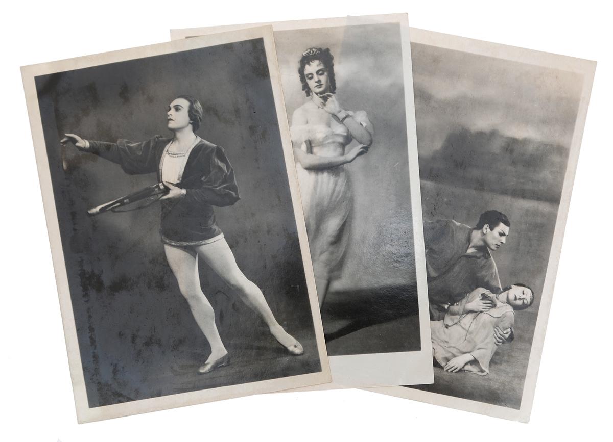 Балет. Комплект из 3 открыток