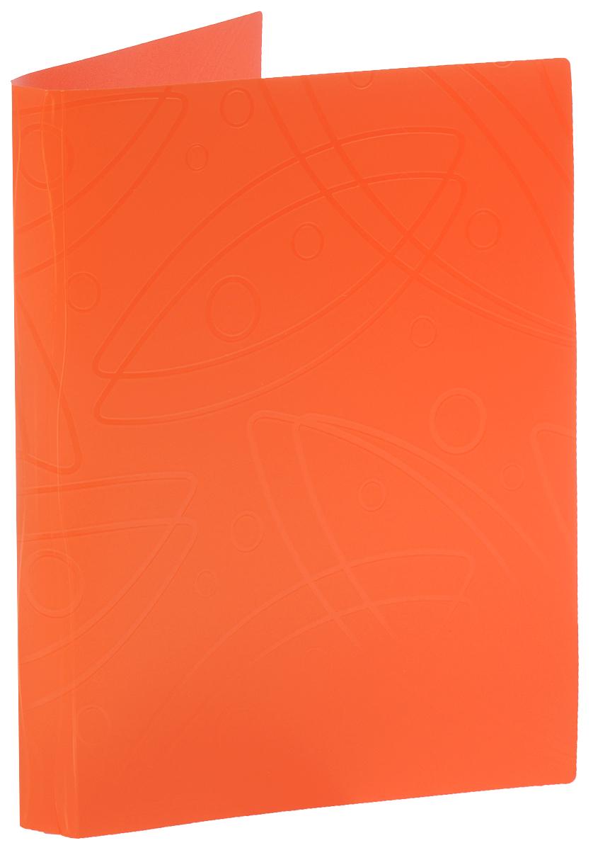 Бюрократ Папка с зажимом Galaxy цвет оранжевый