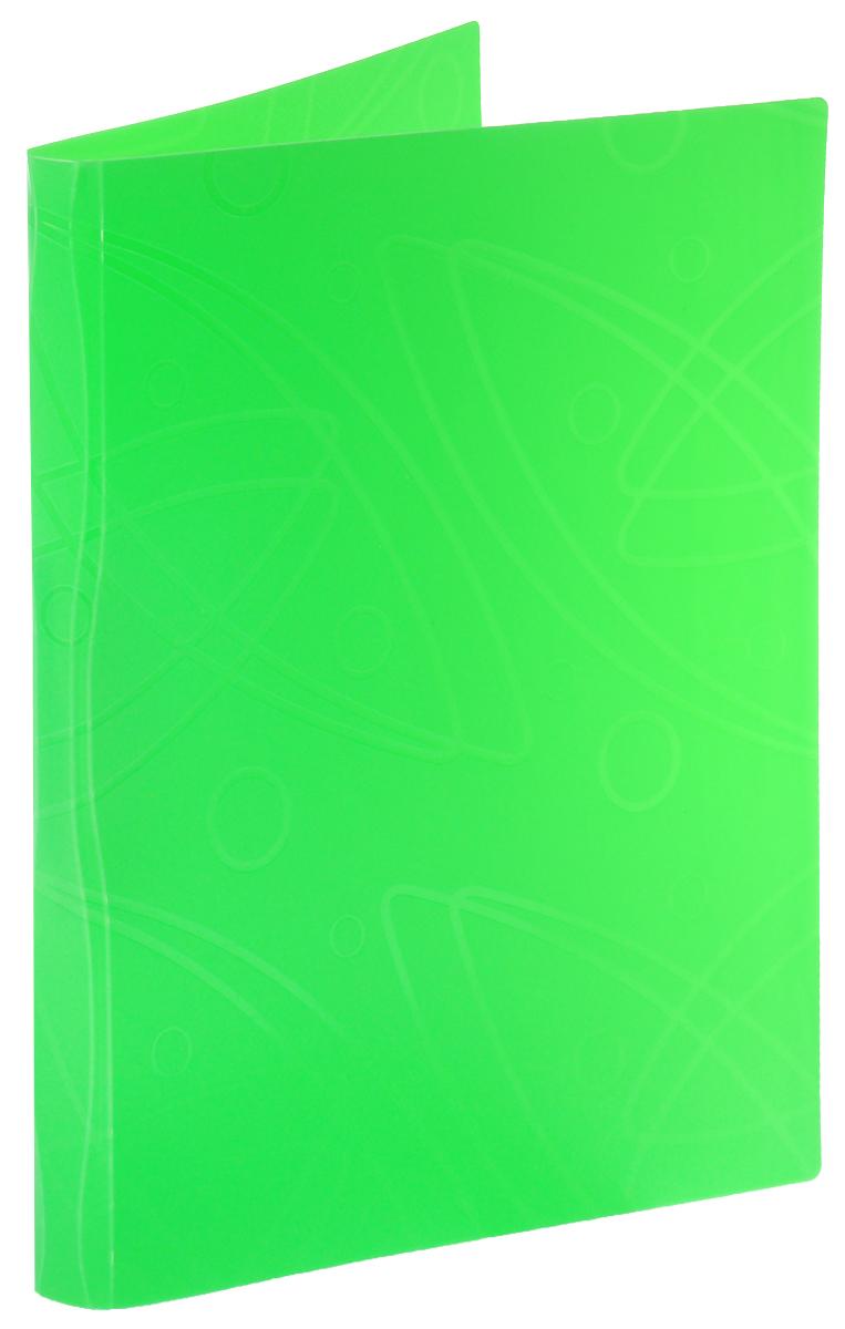 Бюрократ Папка с зажимом Galaxy цвет зеленый