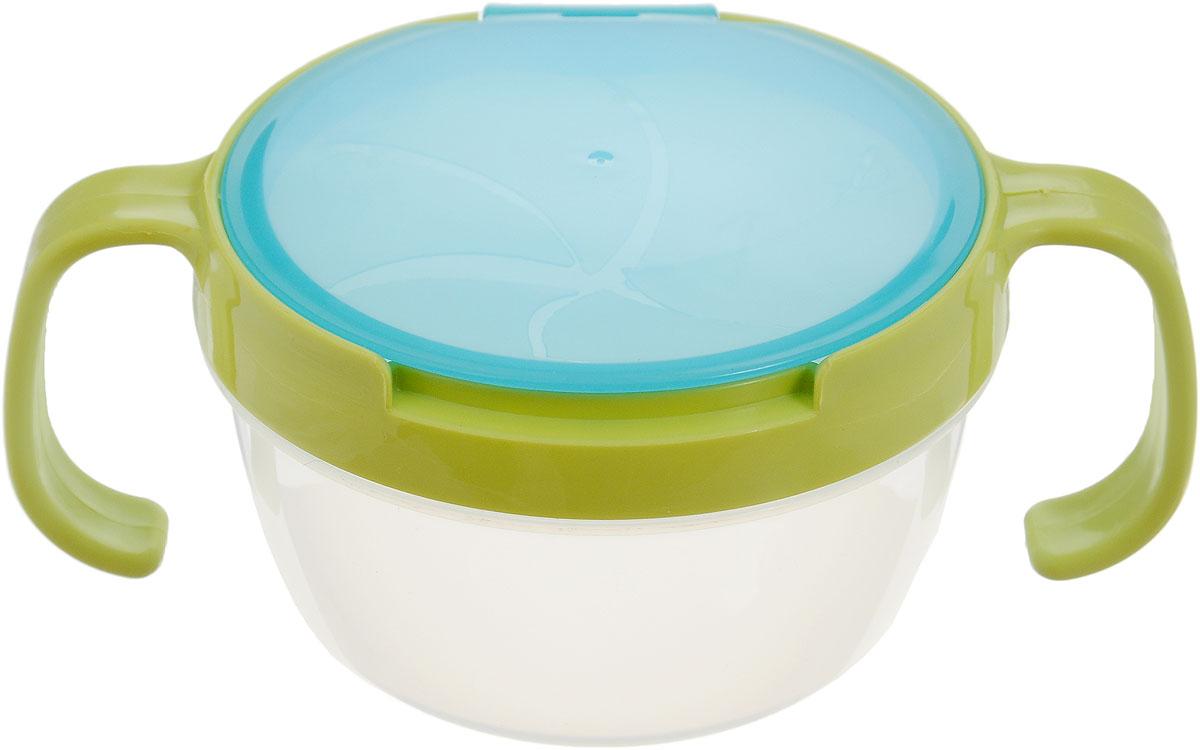 Bradex Контейнер для еды детский Поймай печенье цвет голубой