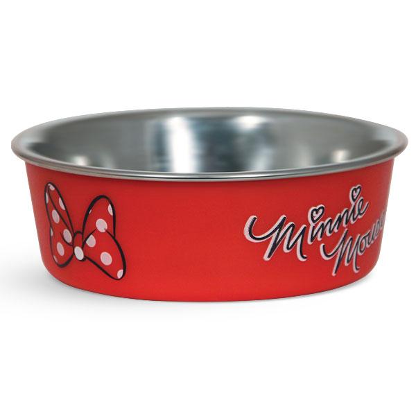 Миска для животных Triol Disney. Minnie, 750 млWD3001Металлическая миска с пластиковым покрытием. Резиновое кольцо в основании миски препятствует ее скольжению во время использования.