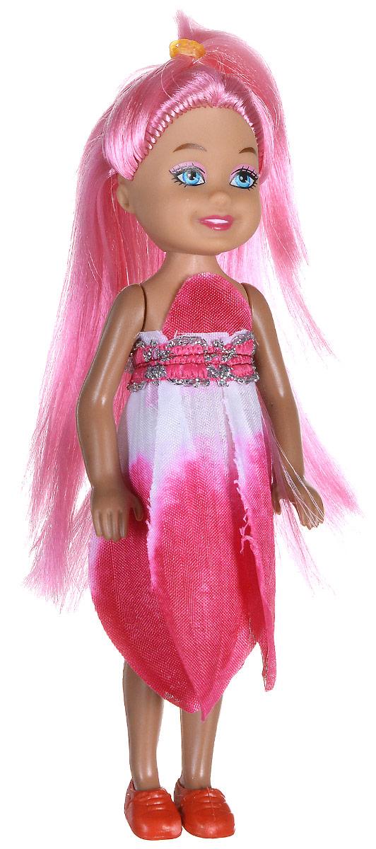 Shantou Мини-кукла Fashion Style цвет платья розовый P870-H43280P870-H43280Мини-кукла Shantou Fashion Style - очаровательная малышка-подружка для вашей дочурки. Кукла одета в розовое платье, на ногах у нее коралловые туфельки. Длинные волосы куклы можно расчесывать и заплетать из них различные прически. Руки, ноги и голова куклы подвижные. Игры с куклой способствуют эмоциональному развитию ребенка, а также помогают формировать воображение и художественный вкус. Куклы, пожалуй, самые популярные игрушки в мире. Девочки обожают играть с ними, отправляясь в сказочную страну грез. Порадуйте свою малышку таким великолепным подарком!