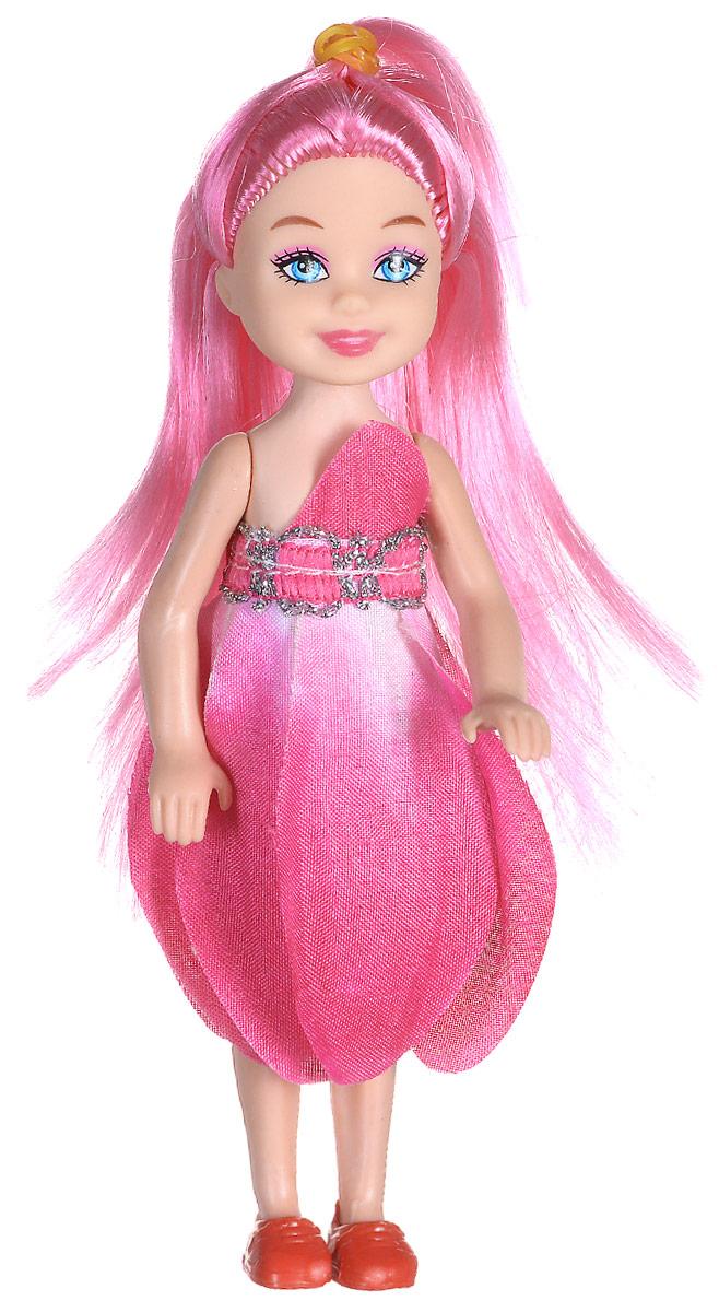 Shantou Мини-кукла Fashion Style цвет платья розовый P870-H43279P870-H43279Мини-кукла Shantou Fashion Style - очаровательная малышка-подружка для вашей дочурки. Кукла одета в розовое платье, на ногах у нее коралловые туфельки. Длинные волосы куклы можно расчесывать и заплетать из них различные прически. Руки, ноги и голова куклы подвижные. Игры с куклой способствуют эмоциональному развитию ребенка, а также помогают формировать воображение и художественный вкус. Куклы, пожалуй, самые популярные игрушки в мире. Девочки обожают играть с ними, отправляясь в сказочную страну грез. Порадуйте свою малышку таким великолепным подарком!