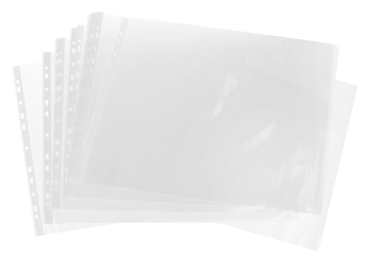 Бюрократ Папка-вкладыш с универсальной перфорацией 50 шт