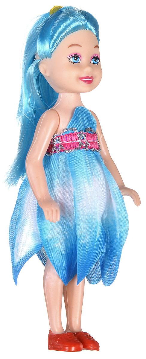 Shantou Мини-кукла Fashion Style цвет платья голубой P870-H43279P870-H43279_голубойМини-кукла Shantou Fashion Style - очаровательная малышка-подружка для вашей дочурки. Кукла одета в голубое платье, на ногах у нее коралловые туфельки. Длинные волосы куклы можно расчесывать и заплетать из них различные прически. Руки, ноги и голова куклы подвижные. Игры с куклой способствуют эмоциональному развитию ребенка, а также помогают формировать воображение и художественный вкус. Куклы, пожалуй, самые популярные игрушки в мире. Девочки обожают играть с ними, отправляясь в сказочную страну грез. Порадуйте свою малышку таким великолепным подарком!