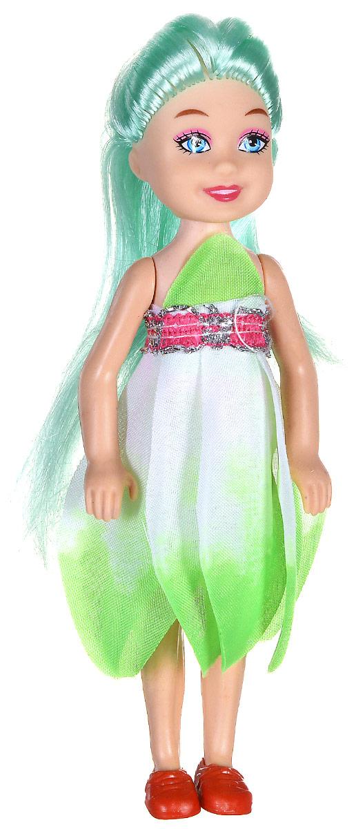 Shantou Мини-кукла Fashion Style цвет платья салатовый P870-H43279P870-H43279_салатовыйМини-кукла Shantou Fashion Style - очаровательная малышка-подружка для вашей дочурки. Кукла одета в салатовое платье, на ногах у нее коралловые туфельки. Длинные волосы куклы можно расчесывать и заплетать из них различные прически. Руки, ноги и голова куклы подвижные. Игры с куклой способствуют эмоциональному развитию ребенка, а также помогают формировать воображение и художественный вкус. Куклы, пожалуй, самые популярные игрушки в мире. Девочки обожают играть с ними, отправляясь в сказочную страну грез. Порадуйте свою малышку таким великолепным подарком!