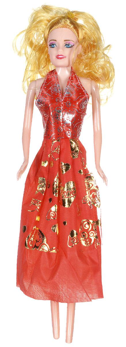 Shantou Кукла Angelic Girl цвет платья красный