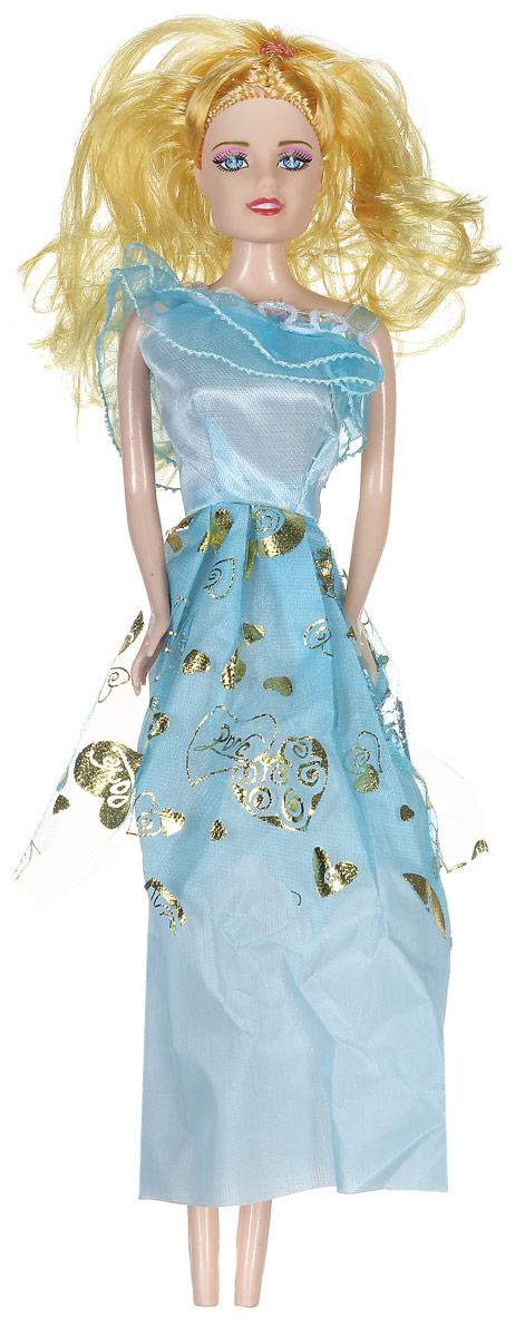 Shantou Кукла Angelic Girl цвет платья голубойB953-H43002_голубойКукла Shantou Angelic Girl непременно обрадует вашу малышку. Куколка со светлыми волосами одета в голубое платье, украшенное блестками. Головка и ручки куклы подвижны. Игры с куклой способствуют эмоциональному развитию ребенка, а также помогают формировать воображение и художественный вкус.