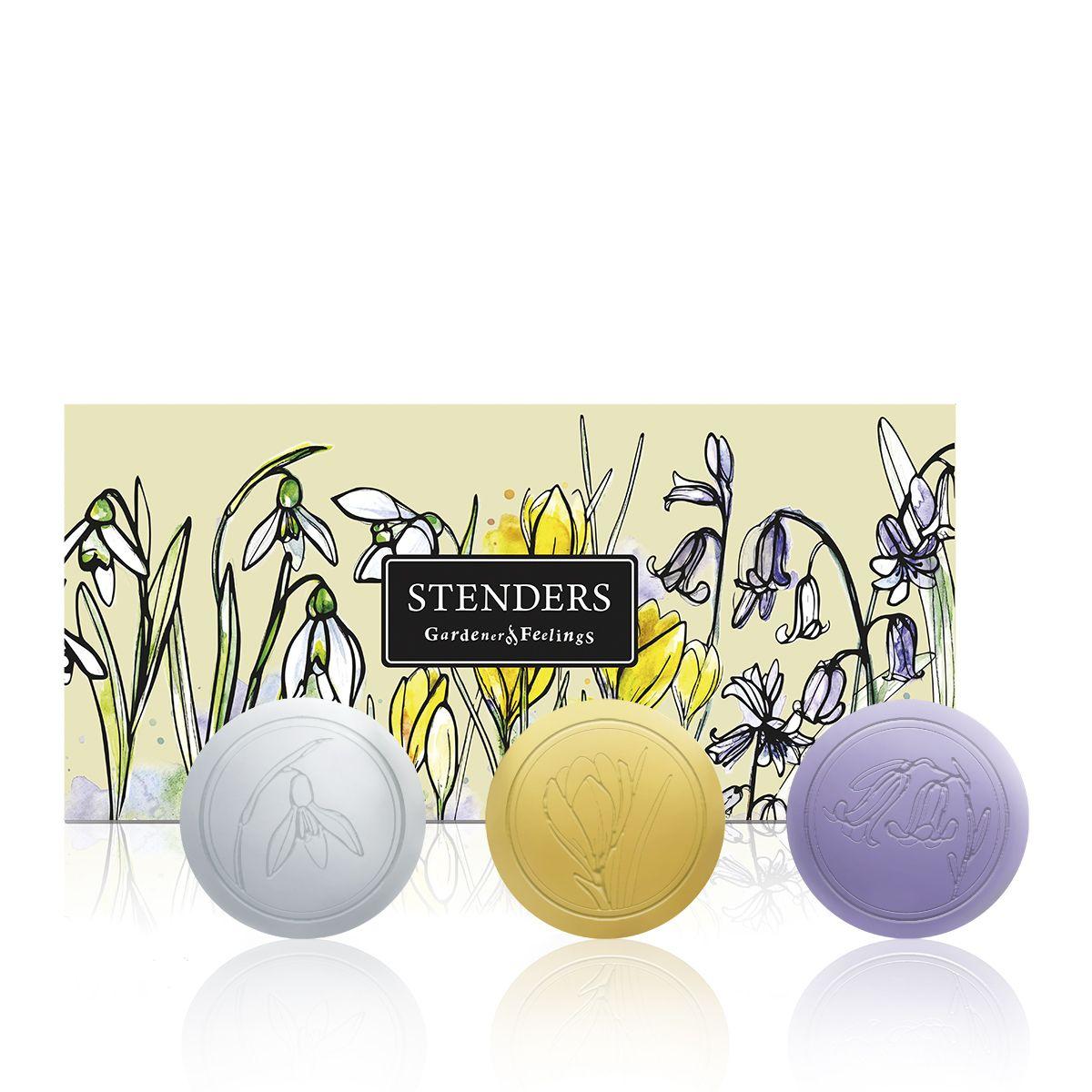 """Stenders Коллекция мыла """"Первые весенние цветы"""" SPCK001"""