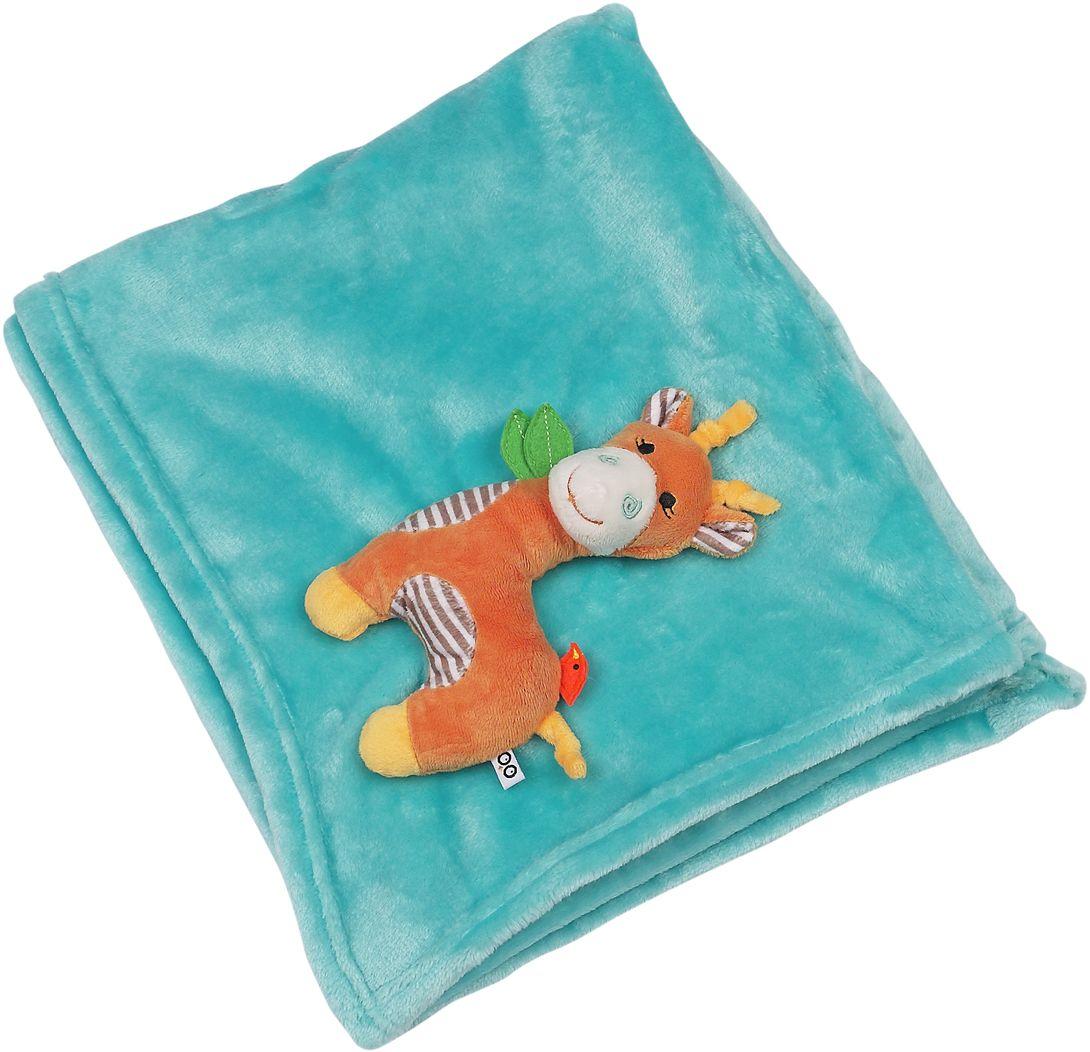 Zoocchini Одеяло с игрушкой Жираф00519Это не просто одеяло, это два в одном: одеяло и мягкая игрушка! Мягкое одеяло Zoocchini подарит уют и комфорт вашему малышу, а также станет замечательным другом, который будет сопровождать его в самые тёплые моменты его жизни.
