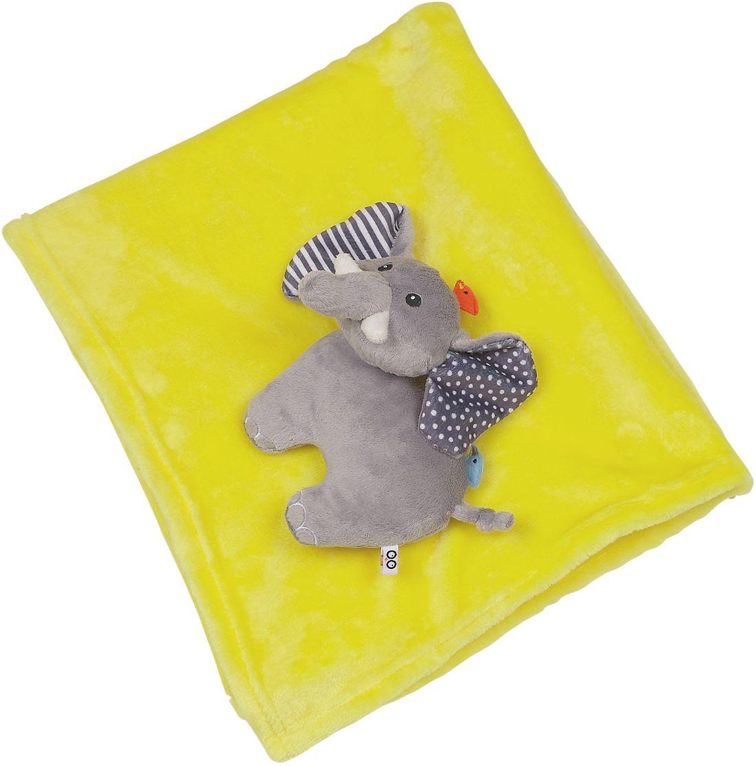 Zoocchini Одеяло с игрушкой Слон00517Это не просто одеяло, это два в одном: одеяло и мягкая игрушка! Мягкое одеяло Zoocchini подарит уют и комфорт вашему малышу, а также станет замечательным другом, который будет сопровождать его в самые тёплые моменты его жизни.