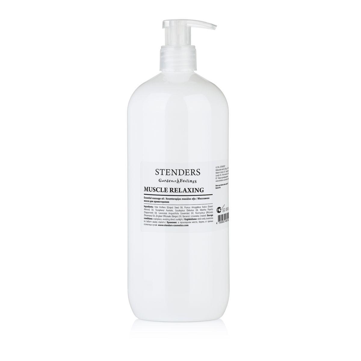 Stenders Массажное масло Расслабляющее Мышцы 1 л