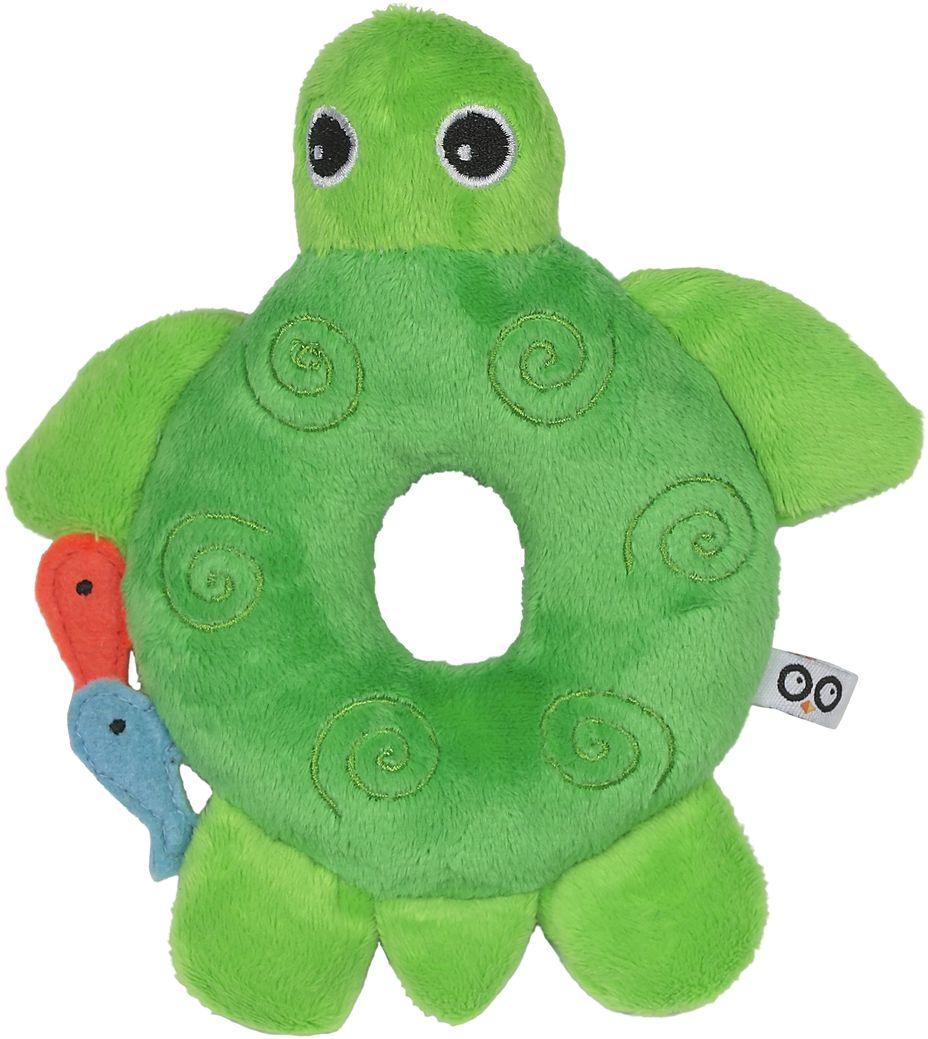 Zoocchini Погремушка Черепашка00525Мягкая, приятная на ощупь погремушка в виде любимого животного заставит вашего ребёнка улыбаться! Внимание! Составляет прекрасную пару одеялу с игрушкой Zoocchini.