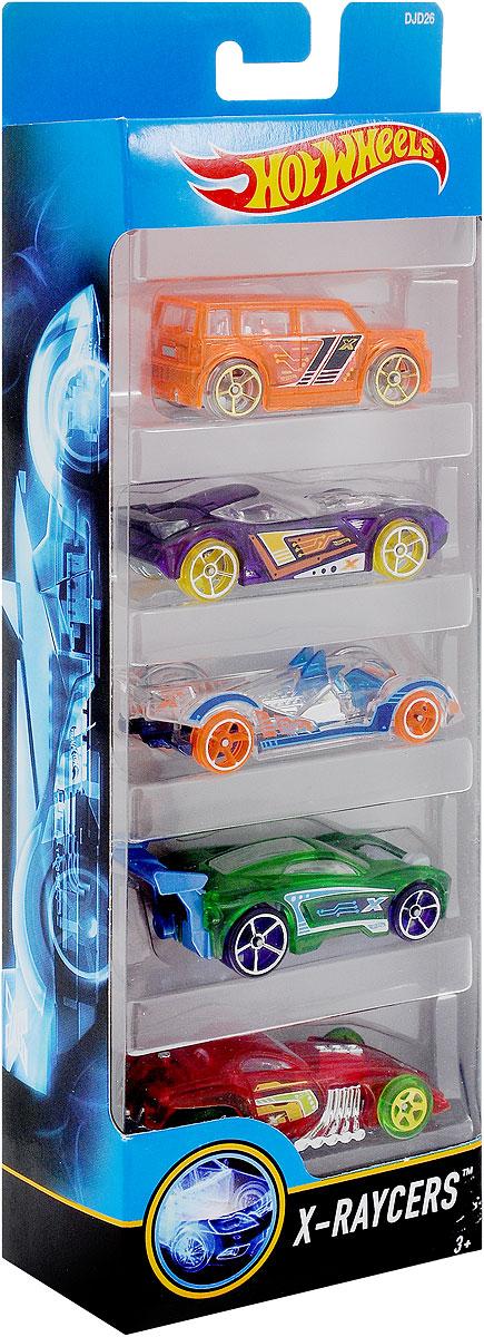Hot Wheels Набор машинок X-Raycers 5 шт1806_DJD26