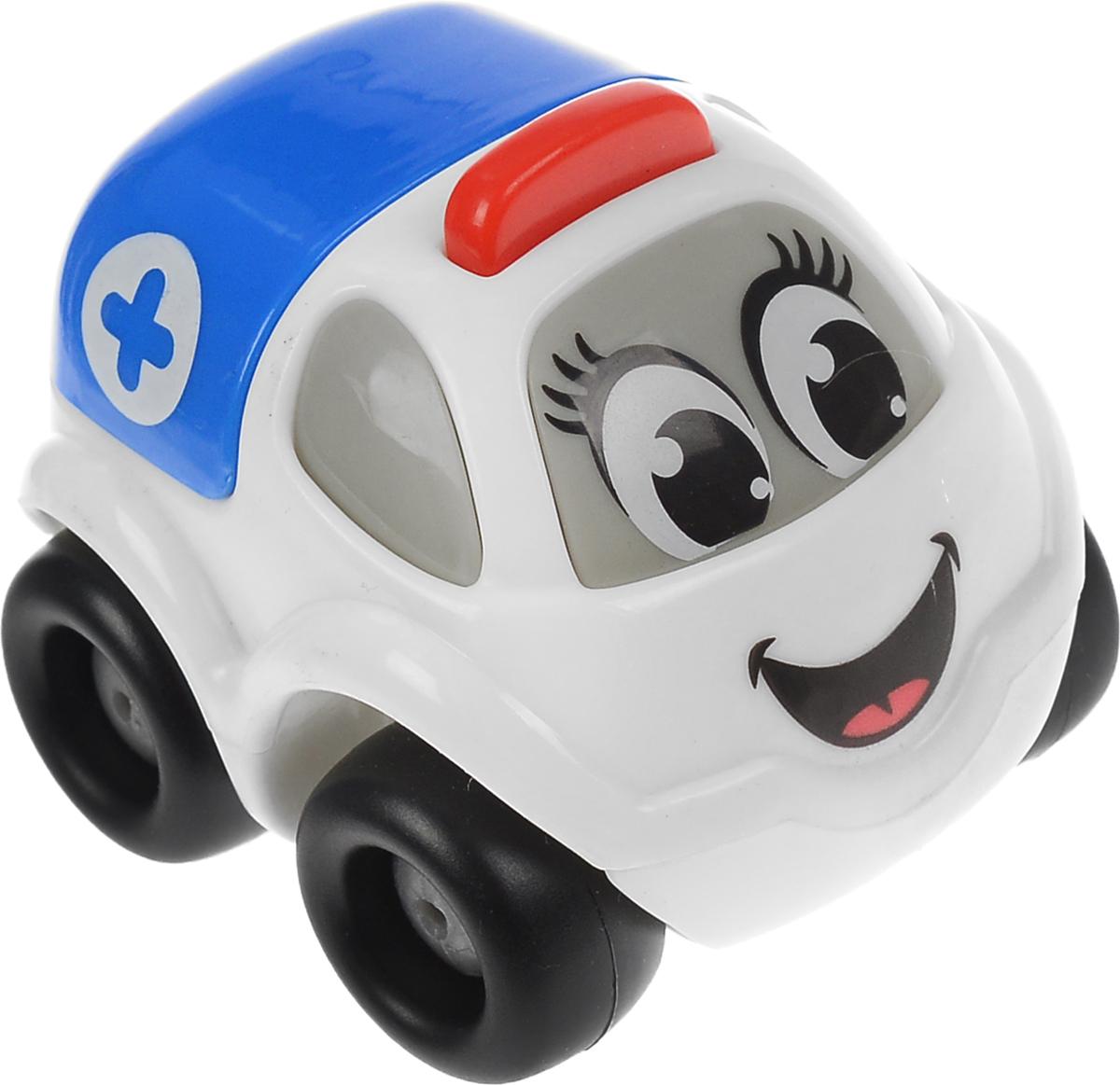 Smoby Машинка Vroom Planet цвет белый синий211257Машинка Smoby Vroom Planet обязательно понравится вашему ребенку и надолго увлечет его. Игрушка выполнена из прочного пластика и не имеет острых углов, что делает игру с ней безопасной. Колесики машинки вращаются, она великолепно скользит по любой гладкой поверхности. Автомобиль имеет свое профессиональное назначение, что придает особый интерес к игре. Небольшой размер игрушки позволит играть с ней даже самым маленьким детям. Игры с этой забавной машинкой развивают концентрацию внимания, координацию движений, мелкую и крупную моторику, цветовое восприятие и воображение. УВАЖАЕМЫЕ КЛИЕНТЫ! Обращаем ваше внимание на возможные изменения в цветовом дизайне, связанные с ассортиментом продукции. Поставка осуществляется в зависимости от наличия на складе.
