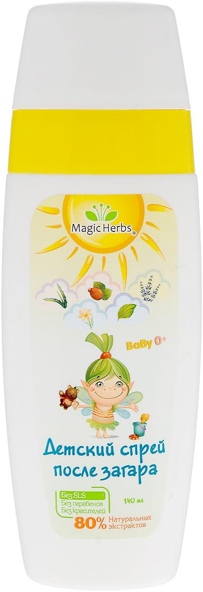 Magic Herbs Спрей детский успокаивающий, после загара, 140 млБП219специально создан для нежной детской кожи. Гипоаллергенный спрей не содержит парабенов, красителей и ароматизаторов, он является абсолютно безопасным и не вызывает раздражения. В состав входят натуральные экстракты ромашки, подорожника, шиповника, лаванды и алоэ, которые смягчают кожу. Спрей успокаивает кожу, снимает покраснения и увлажняет. Средство устойчиво к влаге и поту, оно равномерно распределяется по коже, не оставляет ощущения липкости и белых разводов. Такое средство просто незаменимо во время отдыха на природе, возле водоемов, у бассейна. Товар сертифицирован.