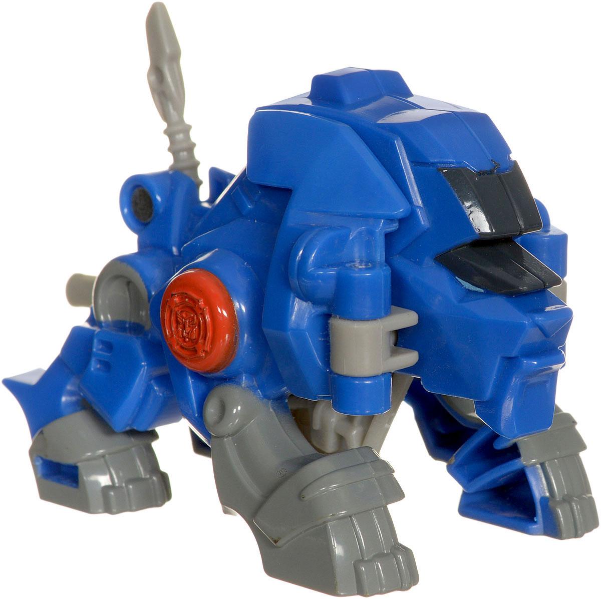 Playskool Heroes Трансформер Valor the Lion-BotB4954EU4_B4957Трансформер Playskool Heroes Valor the Lion-Bot обязательно порадует малыша. Он выполнен из прочного пластика сине-серого цвета в виде льва-трансформера. Ваш малыш будет отчаянно сражаться с противниками вместе с трансформерами! Небольшой размер игрушки разработан специально для маленьких детских ручек. Придумывать различные увлекательные сюжеты вместе с героями Playskool Heroes станет еще интереснее, ведь вы можете собрать целую коллекцию!