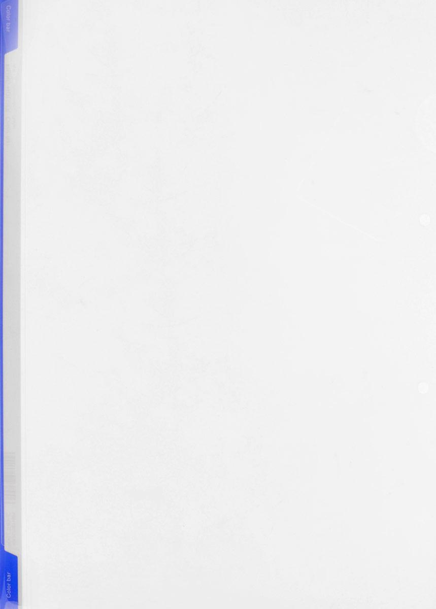 Kokuyo Папка-уголок цвет прозачный синий