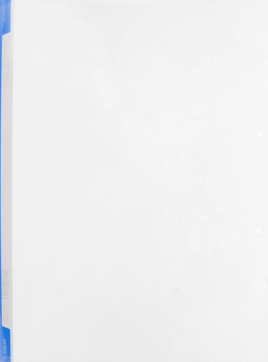 Kokuyo Папка-уголок цвет прозрачный голубой