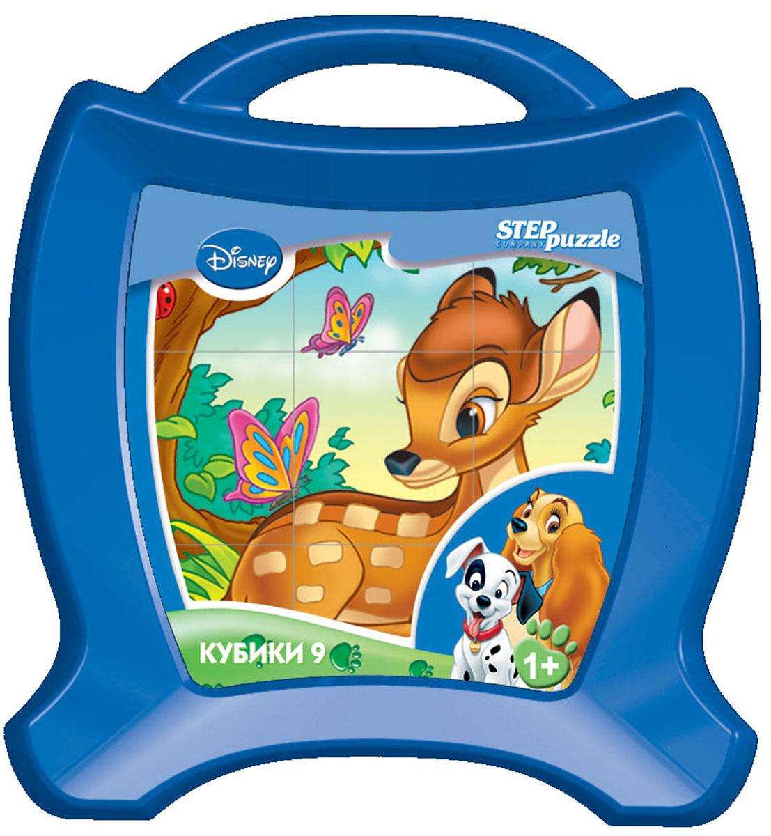 Step Puzzle Кубики Animal Friends в чемоданчике87111С помощью кубиков Step Puzzle Animal Friends ребенок сможет собрать целых шесть красочных картинок с любимыми героями мультфильмов. Игра с кубиками развивает зрительное восприятие, наблюдательность, мелкую моторику рук и произвольные движения. Ребенок научится складывать целостный образ из частей, определять недостающие детали изображения. Это прекрасный комплект для развлечения и времяпрепровождения с пользой для малыша.