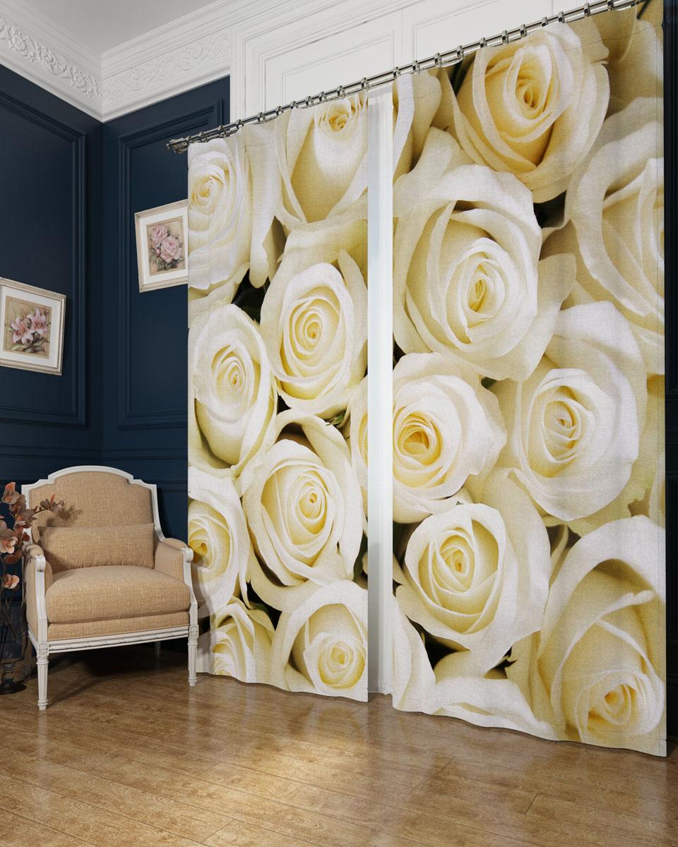 Комплект фотоштор Сирень Душистые розы, на ленте, высота 260 см02331-ФШ-БЛ-001Фотошторы Сирень Душистые розы, выполненные из блэкаута, отлично дополнят украшение любого интерьера. Блэкаут - это трехслойная светонепроницаемая ткань - 100% полиэстер, по структуре напоминает плотный хлопок, очень мягкий,с небольшим сероватым оттенком из-за черной нити, входящей в состав ткани. Блэкаут не требует особого ухода, хорошо драпируется. Пропускает солнечные лучи не более 5%. Крепление на карниз при помощи шторной ленты на крючки. В комплекте 2 шторы. Ширина одного полотна: 145 см. Высота штор: 260 см. Рекомендации по уходу: стирка при 30 градусах, гладить при температуре до 110 градусов. Изображение на мониторе может немного отличаться от реального.