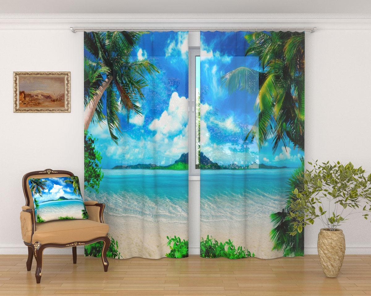 Комплект фототюлей Сирень Райский уголок, на ленте, высота 260 см02334-ФТ-ВЛ-001Фототюль Сирень Райский уголок из легкой парящей ткани - вуали - благодаря своей прозрачности позволяет создать в комнате уютную атмосферу, отлично дополняет украшение любого окна. Ткань хорошо держит форму, не требует специального ухода. Яркая и чёткая картинка будет радовать вас каждый день. Крепление на карниз при помощи шторной ленты на крючки. В комплекте: 2 тюля. Ширина полотна: 145 см. Высота полотна: 260 см. Рекомендации по уходу: стирка при 30 градусах, гладить при температуре до 110 градусов. Изображение на мониторе может немного отличаться от реального.