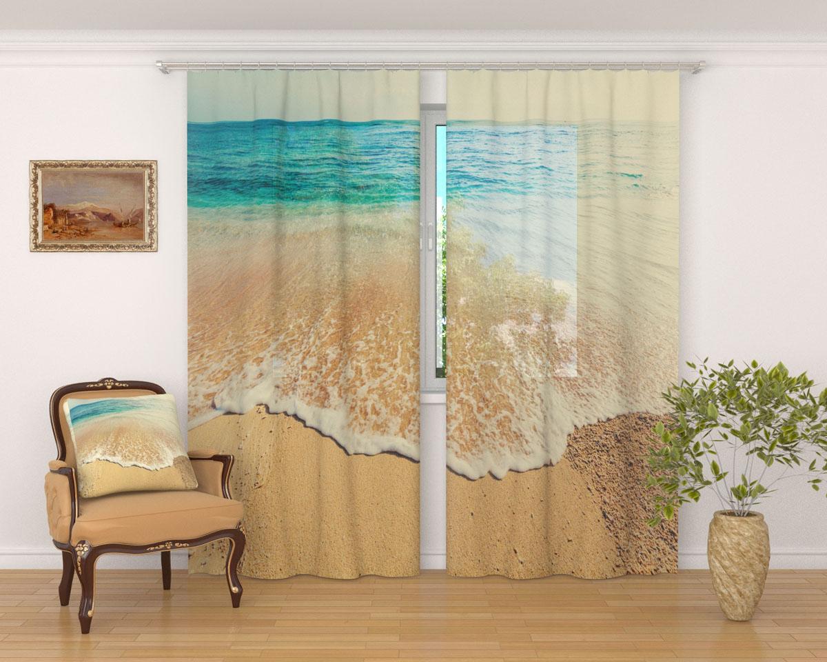 Комплект фототюлей Сирень Дикий пляж, на ленте, высота 260 см03016-ФТ-ВЛ-001Фототюль Сирень Дикий пляж из легкой парящей ткани - вуали - благодаря своей прозрачности позволяет создать в комнате уютную атмосферу, отлично дополняет украшение любого окна. Ткань хорошо держит форму, не требует специального ухода. Яркая и чёткая картинка будет радовать вас каждый день. Крепление на карниз при помощи шторной ленты на крючки. В комплекте: 2 тюля. Ширина полотна: 145 см. Высота полотна: 260 см. Рекомендации по уходу: стирка при 30 градусах, гладить при температуре до 110 градусов. Изображение на мониторе может немного отличаться от реального.