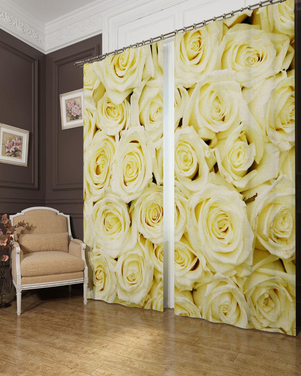 Комплект фотоштор Сирень Кремовые розы, на ленте, 290 х 260 см03795-ФШ-БЛ-001Фотошторы Сирень из ткани блекаут в жаркие дни дадут прохладу в комнате, а в холодные зимние дни сохранят тепло. Это трехслойная светонепроницаема трехслйная ткань — 100% полиэстер, по структуре напоминает плотный хлопок, очень мягкий,с небольшим сероватым оттенком из-за черной нити, входящей в состав ткани. Блекаут не требует особого ухода, хорошо драпируется. Пропускает солнечные лучи не более 5%. Яркая и чёткая картинка перенесенная на наши шторы будет радовать Вас каждый день. Крепление на карниз при помощи шторной ленты на крючки. В комплекте: Портьера: 2 шт. Размер (ШхВ): 145 см х 260 см. Рекомендации по уходу: стирка при 30 градусах гладить при температуре до 110 градусов Изображение на мониторе может немного отличаться от реального.