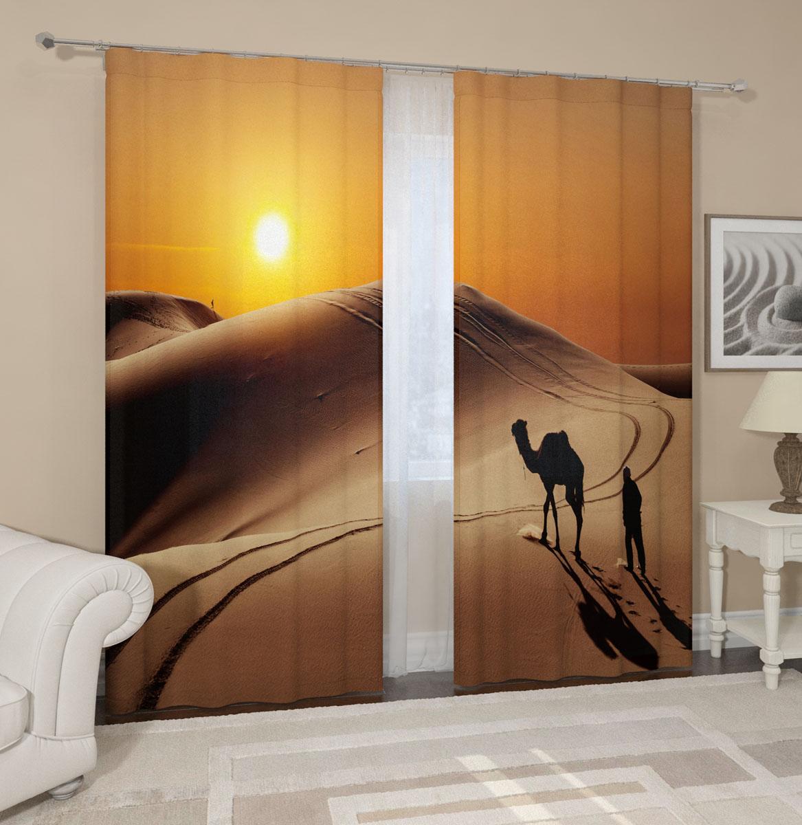 Комплект фотоштор Сирень Пустыня, на ленте, высота 260 см04591-ФШ-ГБ-001Фотошторы Сирень Пустыня, выполненные из габардина (100% полиэстера), отлично дополнят украшение любого интерьера. Особенностью ткани габардин является небольшая плотность, из-за чего ткань хорошо пропускает воздух и солнечный свет. Ткань хорошо держит форму, не требует специального ухода. Крепление на карниз при помощи шторной ленты на крючки. В комплекте 2 шторы. Ширина одного полотна: 145 см. Высота штор: 260 см. Рекомендации по уходу: стирка при 30 градусах, гладить при температуре до 110 градусов. Изображение на мониторе может немного отличаться от реального.