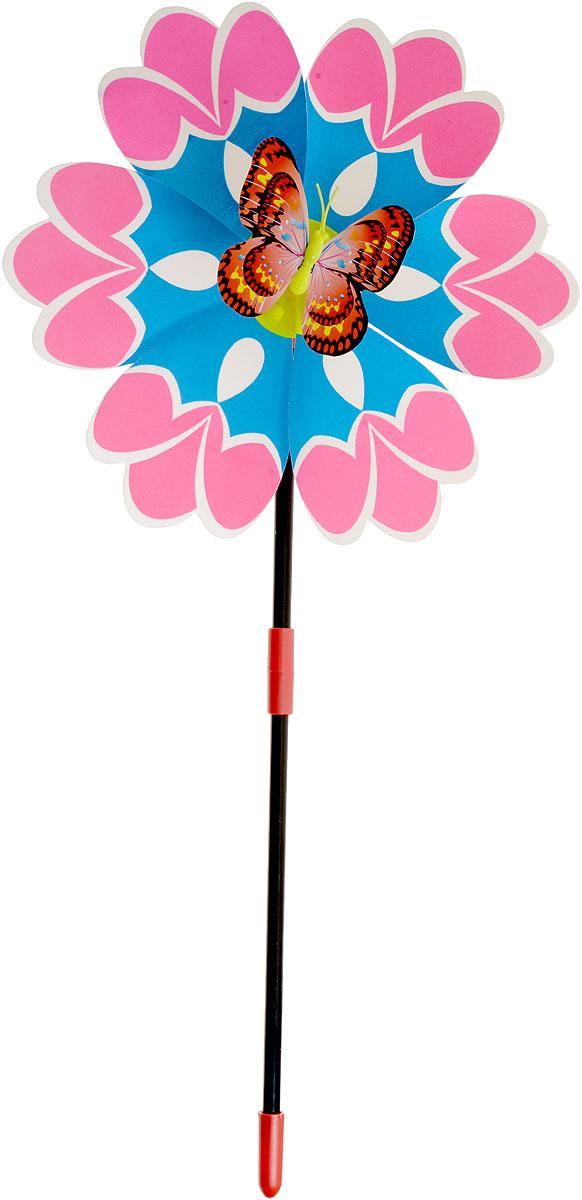 Zilmer Вертушка Ветрячок цвет розовый синий желтыйZIL1810-020Вертушка Zilmer Ветрячок - популярное летнее развлечение на свежем воздухе. Ветрячок имеет яркий привлекательный дизайн. Разноцветные лепесточки крутятся даже от малейшего ветерка. Игрушка прекрасно подойдет и девочкам, и мальчикам, подарит отличное настроение и сделает день еще насыщеннее и веселее.