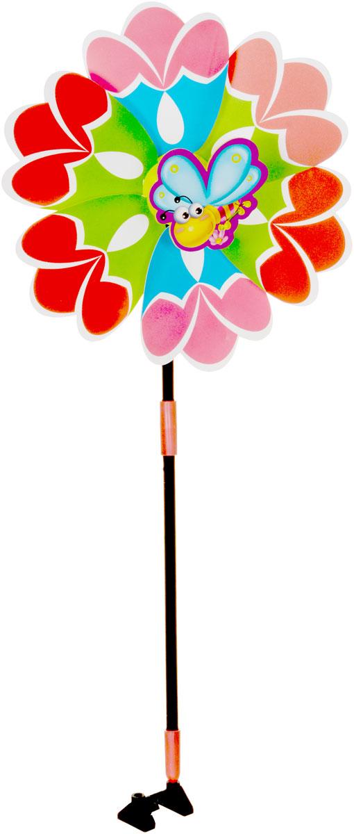 Zilmer Вертушка Ветрячок цвет красный зеленый голубойZIL1810-020Вертушки - популярное летнее развлечение на свежем воздухе. Вертушка Zilmer Ветрячок имеет яркий привлекательный дизайн, разноцветные лепесточки крутятся даже от малейшего ветерка. Игрушка прекрасно подойдет и девочкам, и мальчикам, подарит отличное настроение и сделает день еще насыщеннее и веселее.