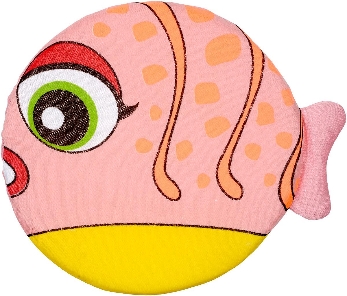 YG Sport Летающий диск Веселые животные Рыбка цвет розовый желтый оранжевыйYG08QЛетающий диск YG Sport Веселые животные. Рыбка, выполненный из мягкого материала, предназначен для игры на свежем воздухе. Он поможет вам и вашему ребенку весело и с пользой для здоровья провести время. Летающий диск способен поднять настроение всем! Каждый ребенок будет рад такому яркому и спортивному подарку.