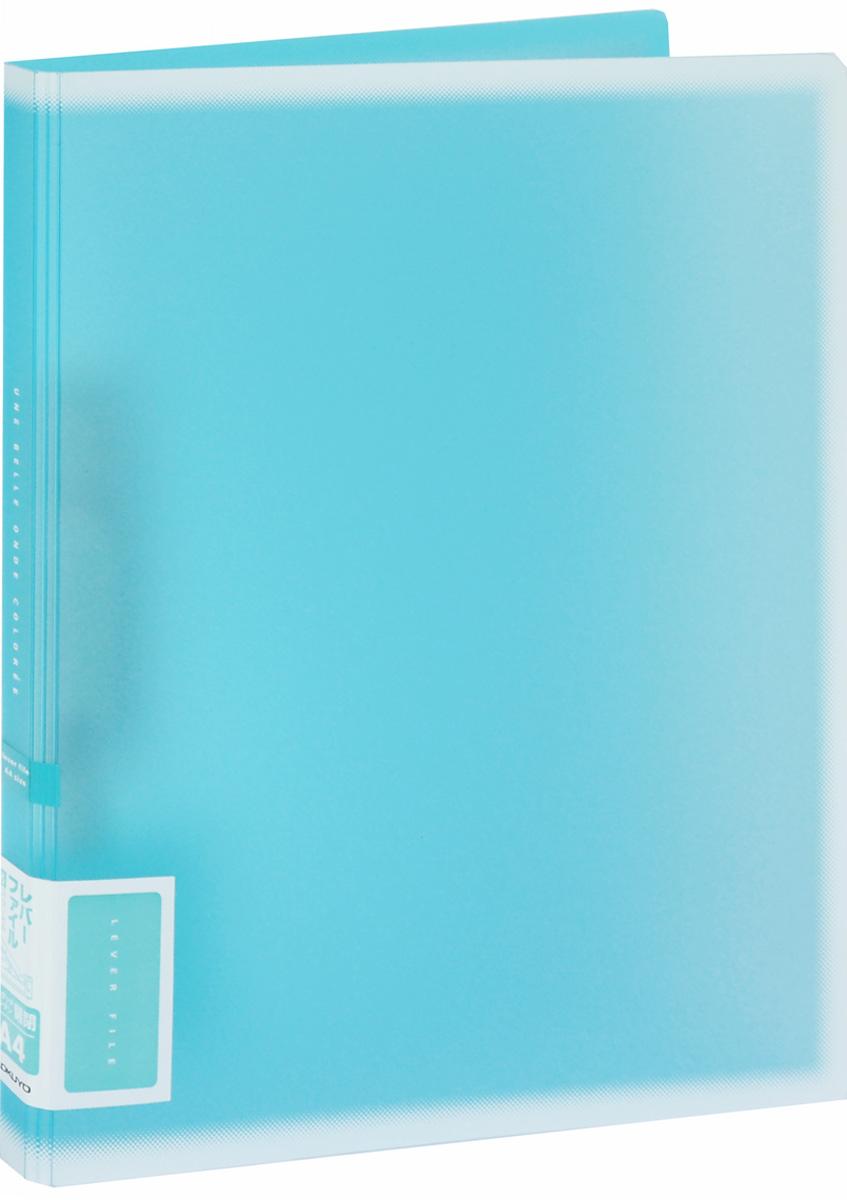 Kokuyo Папка c зажимом Coloree цвет бирюзовый828616Папка с зажимом Kokuyo Coloree предназначена для хранения документов и тетрадей. Она подойдет как для офисного работника, так и для студента или школьника. По форме это обычная папка формата А4, но она имеет прочный пластиковый зажим, который надежно зафиксирует ваши бумаги. Папка изготовлена из качественного пластика и всегда будет сохранять все ваши документы в чистом и опрятном виде.