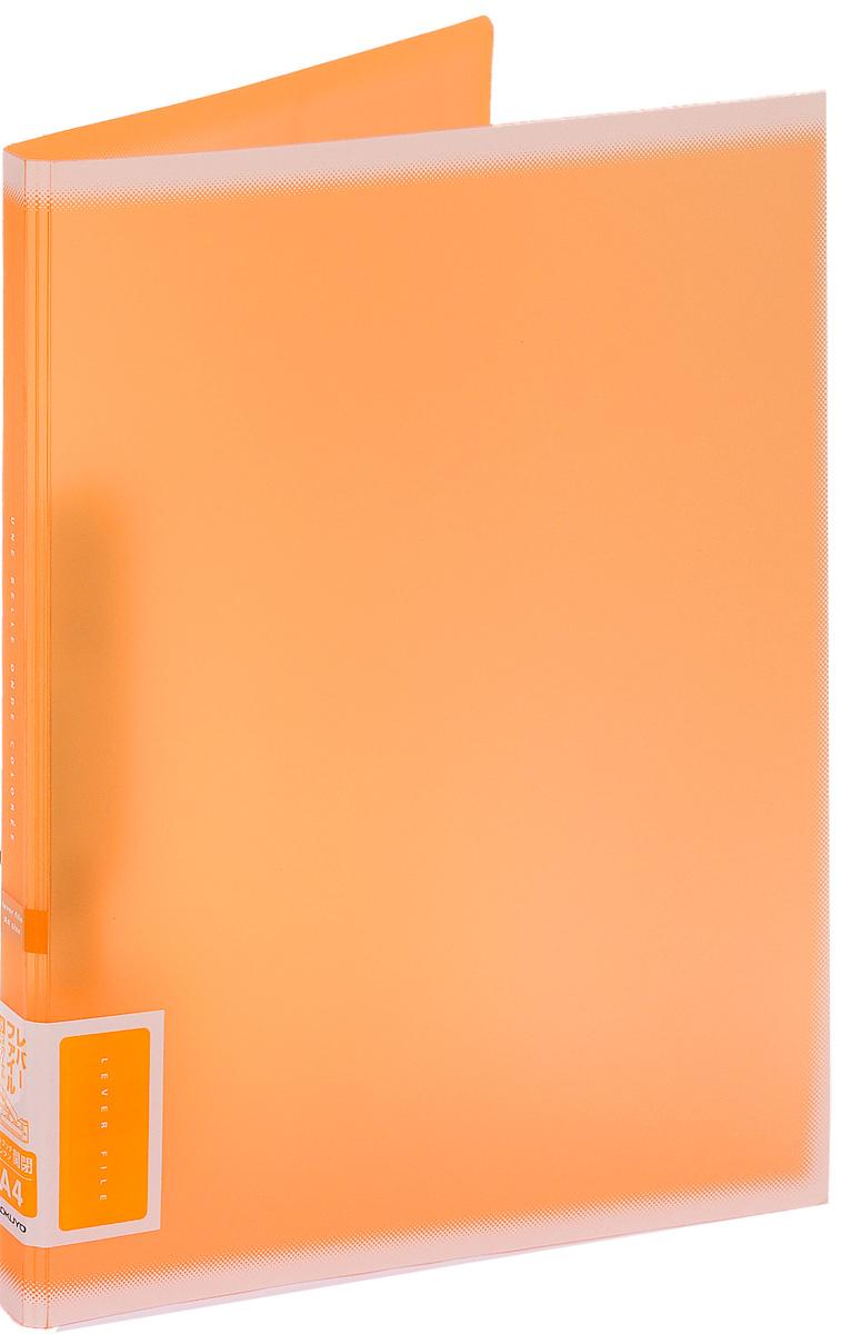 Kokuyo Папка c зажимом Coloree цвет оранжевый