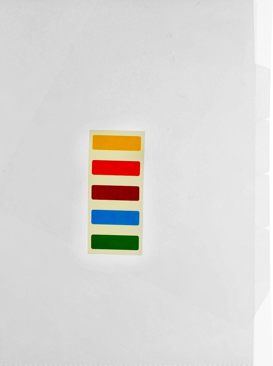 Бюрократ Папка-уголок цвет прозрачный