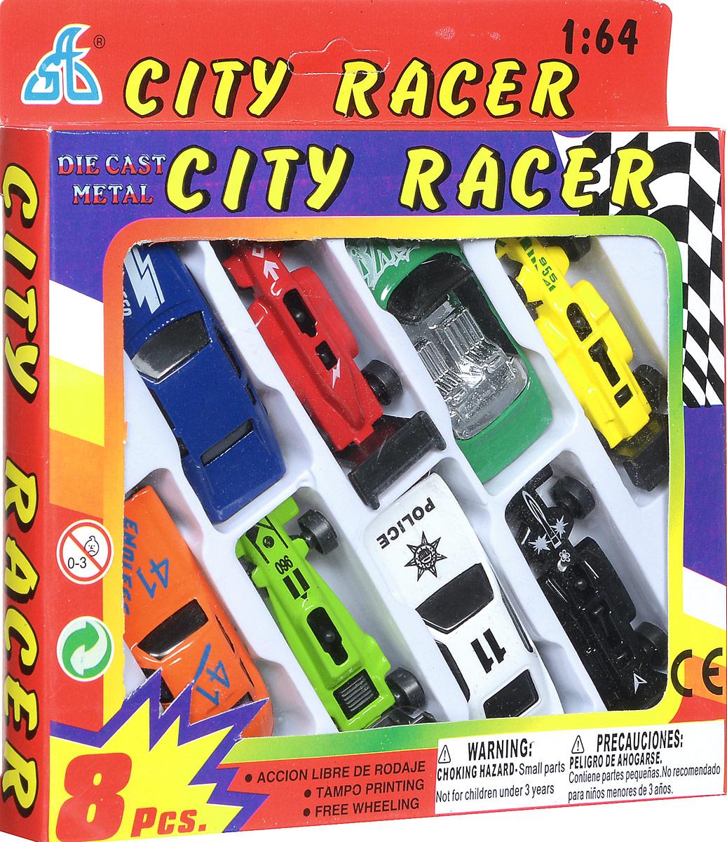 Shantou Набор машинок City Racer 8 шт G100-H36052