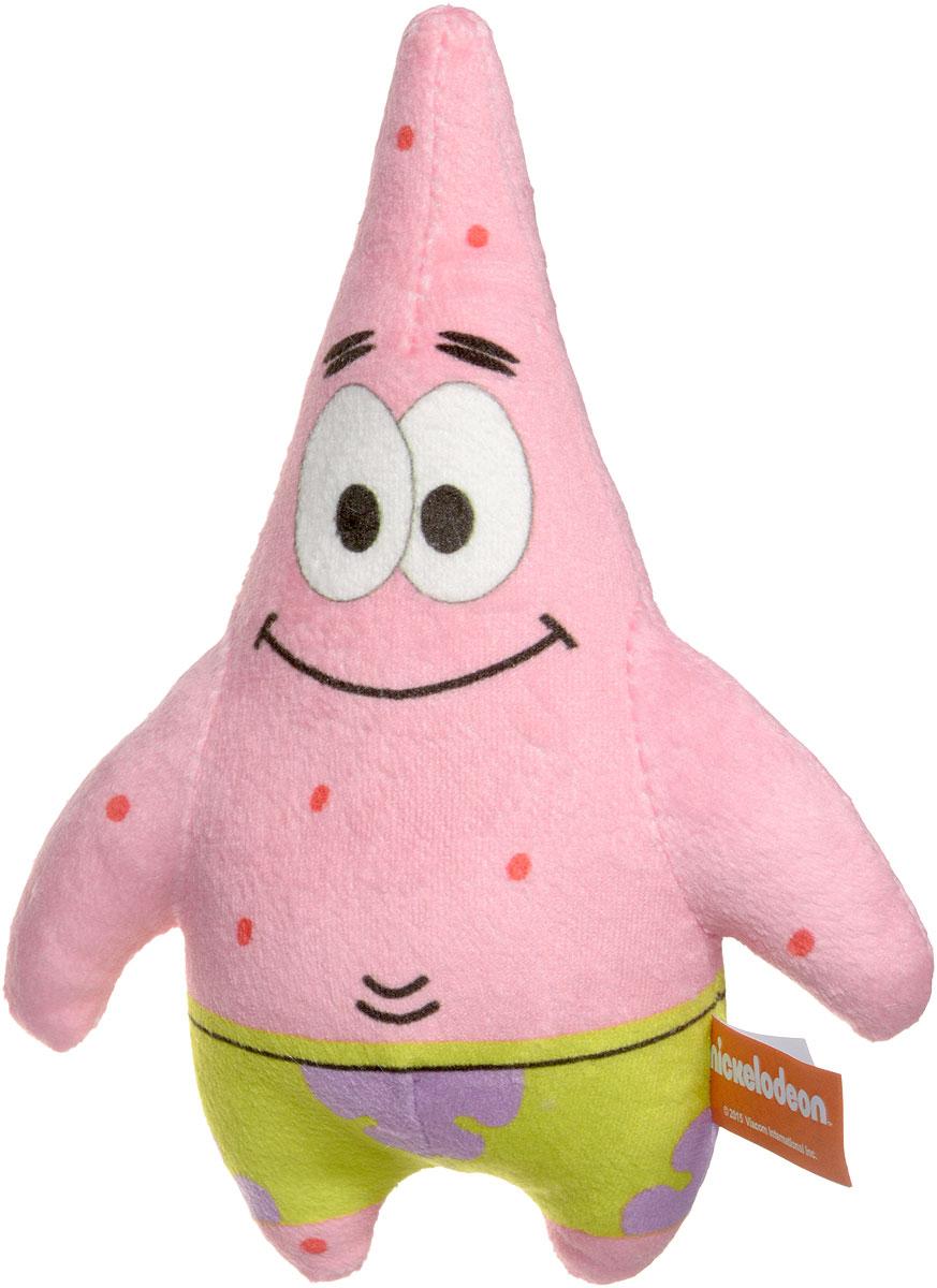 Nickelodeon Мягкая игрушка ПатрикPIBU0Патрик - известный персонаж любимого всеми малышами мультфильма Губка Боб. Патрик - розовая звезда, забавная, веселая, обожает выдувать пузыри. Мягкая игрушка Nickelodeon Патрик обязательно привлечет внимание вашего ребенка. Игрушка мягкая, приятная на ощупь, выполнена в розовом цвете. Благодаря текстильной петле игрушку можно использовать как подвеску. Игрушка разовьет коммуникативные навыки малыша, сформирует умение дружить, улучшит цветовое восприятие.
