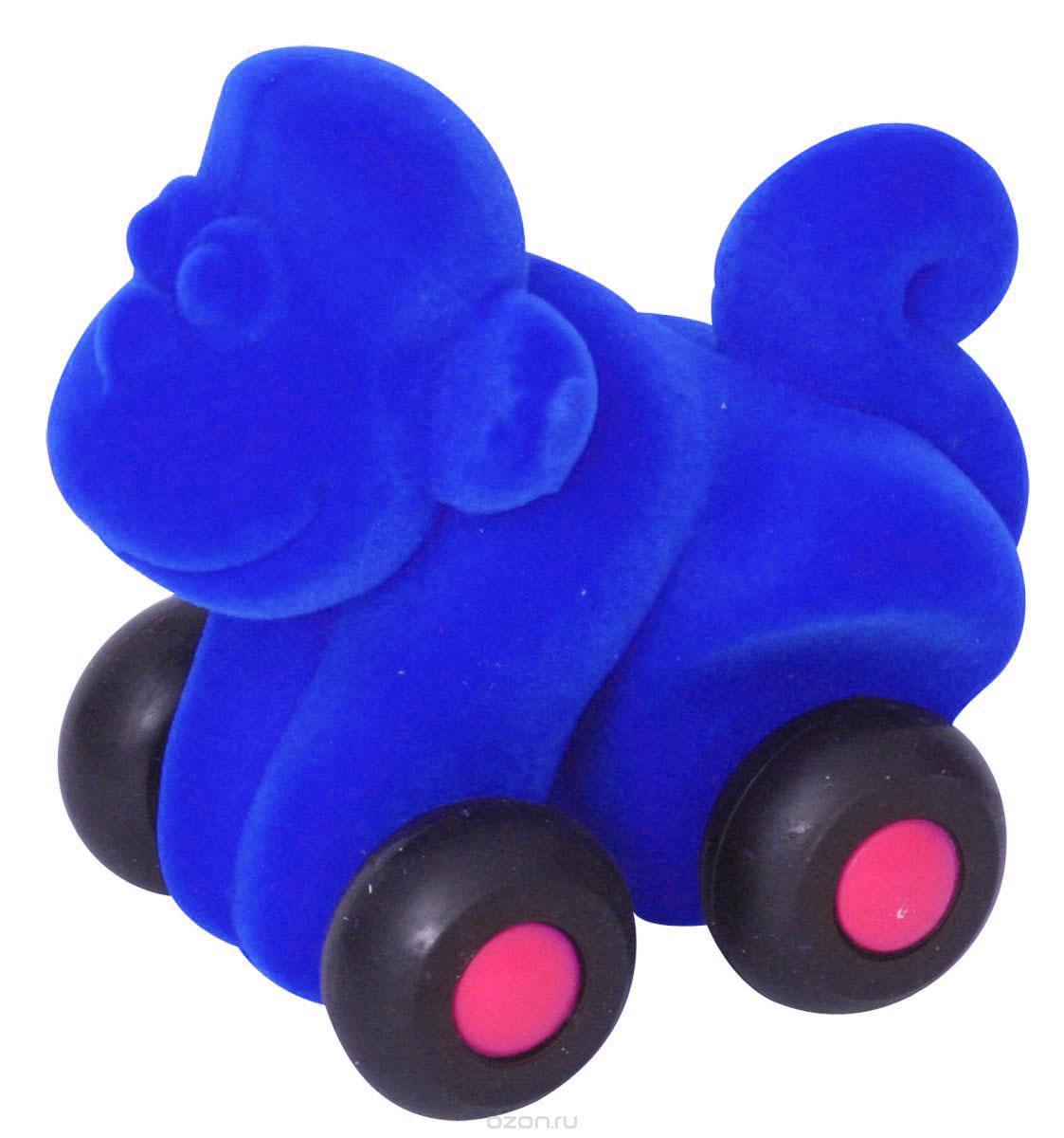 Rubbabu Фигурка функциональная Обезьяна цвет синий20093_синийФункциональная фигурка Rubbabu Обезьяна надолго увлечет вашего кроху! Она изготовлена из качественных и безопасных для детского здоровья материалов. Мягкую обезьянку с бархатистой поверхностью можно просто катать по полу, сминать и бросать. Благодаря своему компактному размеру, игрушка комфортно помещается в ручках малыша. А игры с ней способствуют развитию зрительного восприятия, мелкой моторики, координации и тактильных ощущений. Rubbabu - единственный в мире производитель товаров из натурального каучука с флокированной поверхностью, экологически чистого антибактериального гипоаллергенного материала, стойкого к пыли и плесени. Поставщик флокированного покрытия - швейцарская компания, краски для игрушек изготовлены из американского сырья. Игрушки Rubbabu абсолютно безопасны даже для самого маленького ребенка.