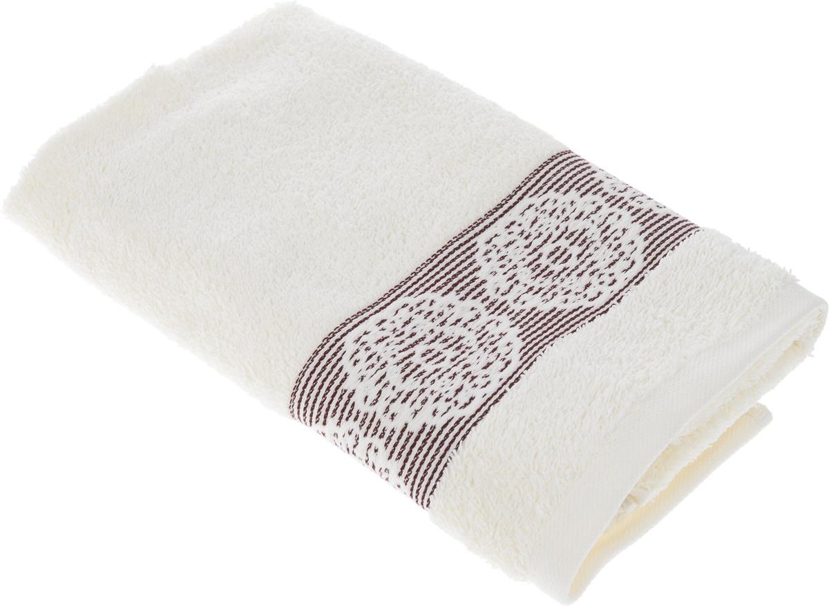 Полотенце Arya Mia, цвет: кремовый, 70 х 140 смTR00002150кремовыйПолотенце Arya Mia выполнено из 100% хлопка. Изделие отлично впитывает влагу, быстро сохнет, сохраняет яркость цвета и не теряет форму даже после многократных стирок. Такое полотенце очень практично и неприхотливо в уходе. Оно создаст прекрасное настроение и украсит интерьер в ванной комнате.
