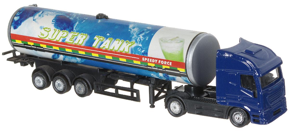 Shantou Нефтяная автоцистерна цвет синийG100-H36228Нефтяная автоцистерна Shantou представляет собой игрушечный грузовик с танкером. У грузовика 5 пар колес со свободным ходом. Кабина выполнена в синем цвете. Малыш может использовать грузовик для разных сюжетных игр, например, вообразить перевозку стратегически важных веществ. Особенно он понравится ребенку благодаря своему детализированному дизайну и схожестью с настоящим автомобилем.