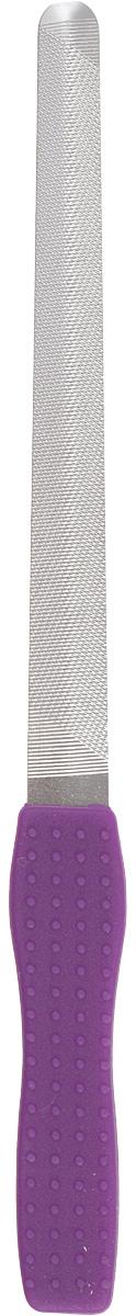 Пилка металлическая для ногтей Solinberg 035, цвет: фиолетовый