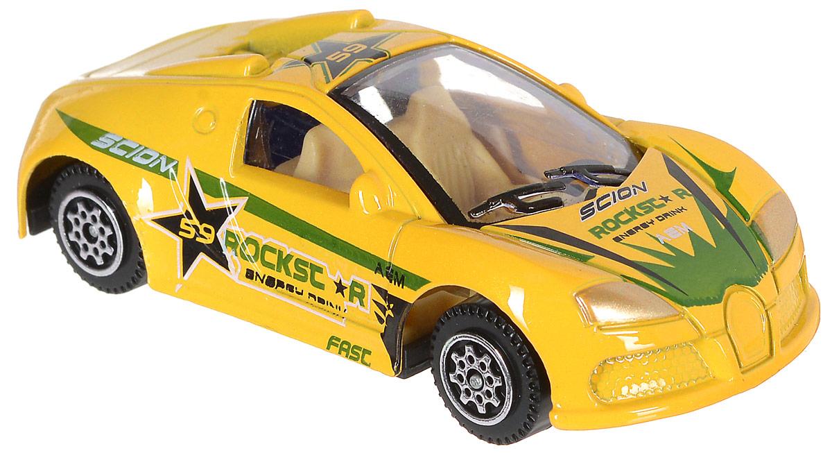 Shantou Машинка Pocket Car цвет желтый1601I164_оранжевыйМашинка Shantou Pocket Car предназначена для сюжетно-ролевых игр, способствует развитию воображения, познавательного мышления и моторики. Выполнено изделие из металла и покрыто яркой нетоксичной краской. Колеса машинки имеют свободный ход. Играя с машинкой, малыш сможет представить себя великим автогонщиком.