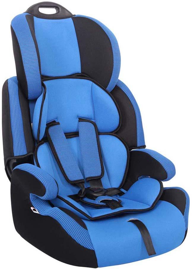 Siger Автокресло Стар цвет синийKRES0457Автокресло Siger «Стар» разработано для детей от 1 года до 12 лет, весом от 9 кг до 36 кг. Относится к возрастной группе 1/2/3. Мягкий подголовник, специальная ортопедическая спинка и накладки внутренних ремней повышают уровень комфорта во время поездки. Чехол изготовлен из качественного износостойкого и гипоаллергенного материала. Кресло снабжено удобной ручкой для переноски. Кресло Siger «Стар» трансформируется под три возрастные группы: от 1 года до 3-4 лет (полная комплектация), от 3 до 6-7 лет (снимаются ремни и внутренние накладки), от 7 до 12 лет (бустер). Детские удерживающие устройства Siger разработаны и сделаны в России с учетом анатомии российских детей. Двухпозиционная регулировка внутренних ремней позволяет адаптировать кресло Siger «Стар» под зимнюю и летнюю одежду ребенка. Автокресло успешно прошло все необходимые краш-тесты и имеет сертификат соответствия техническому регламенту РФ и таможенному союзу. Автокресло Siger «Стар» упаковано в защитную полиэтиленовую...