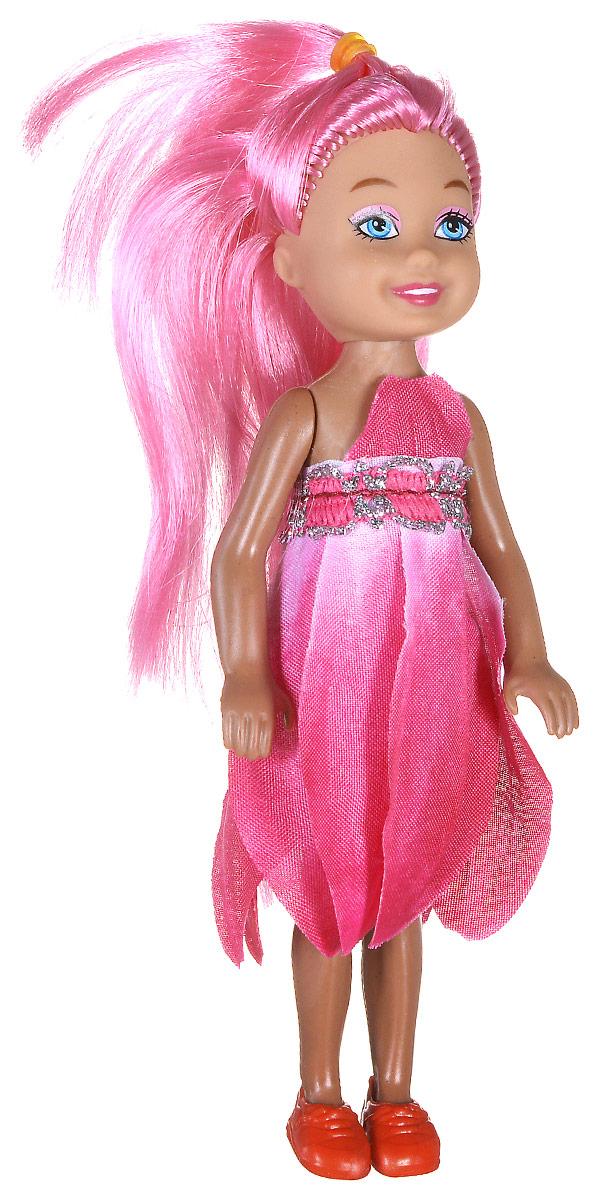 Shantou Мини-кукла Fashion Style цвет платья розовый P870-H43276P870-H43276_розовыйМини-кукла Shantou Fashion Style - очаровательная малышка-подружка для вашей дочурки. Кукла одета в розовое платье, на ногах у нее коралловые туфельки. Длинные волосы куклы можно расчесывать и заплетать из них различные прически. Руки, ноги и голова куклы подвижные. Игры с куклой способствуют эмоциональному развитию ребенка, а также помогают формировать воображение и художественный вкус.
