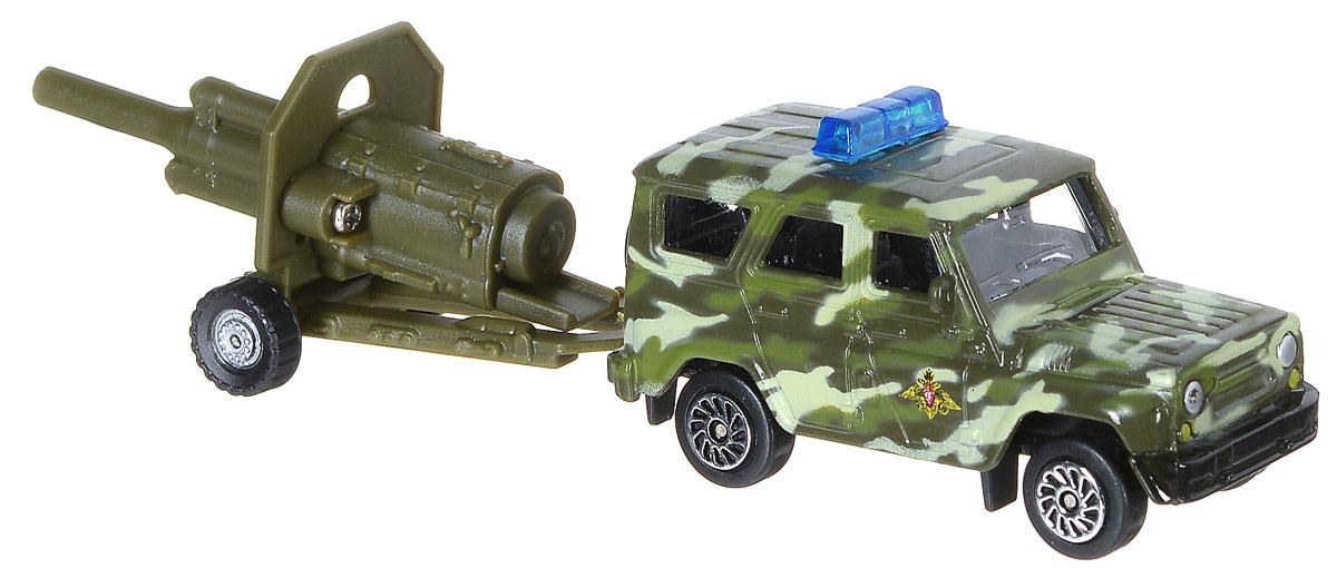 ТехноПарк Внедорожник с пушкой