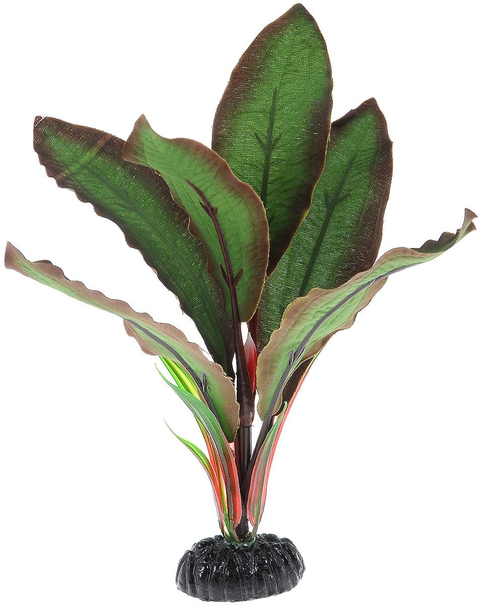 Растение для аквариума Barbus Криптокорина Бекети, шелковое, высота 20 смPlant 040/20Растение для аквариума Barbus Криптокорина Бекети, выполненное из высококачественного нетоксичного пластика и шелка, станет прекрасным украшением вашего аквариума. Шелковое растение идеально подходит для дизайна всех видов аквариумов. В воде происходит абсолютная имитация живых растений. Изделие не требует дополнительного ухода и просто в применении. Растение абсолютно безопасно, нейтрально к водному балансу, устойчиво к истиранию краски, подходит как для пресноводного, так и для морского аквариума. Растение для аквариума Barbus Криптокорина Бекети поможет вам смоделировать потрясающий пейзаж на дне вашего аквариума или террариума.